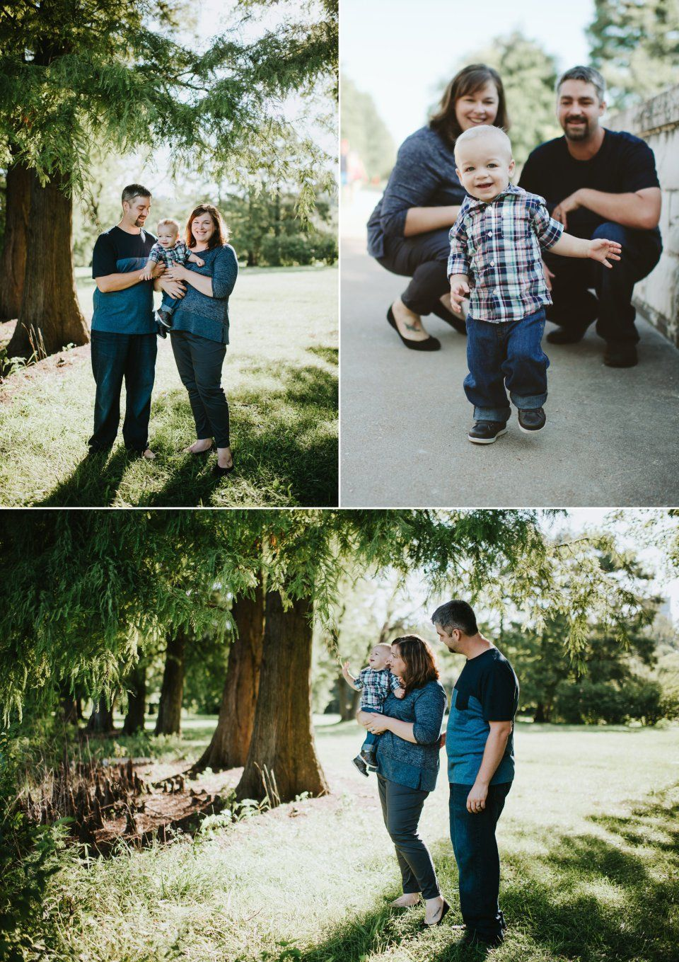 Forest Park Family Photo Session