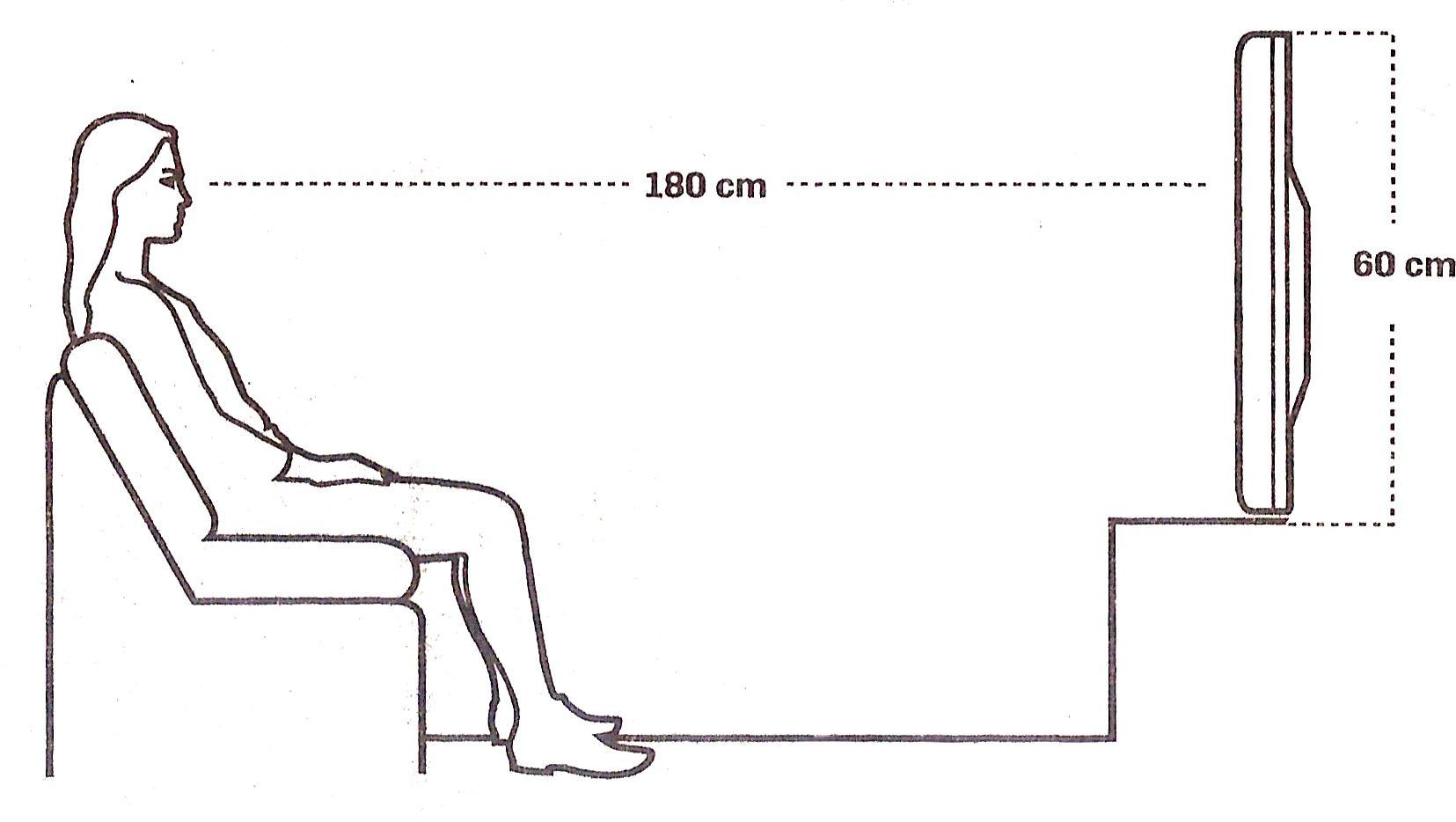 Qual A Distancia Correta Entre Tv E Sofa Com Imagens Tv Na