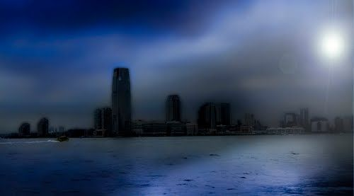 NEW-YORK, NEW-YORK Moon river