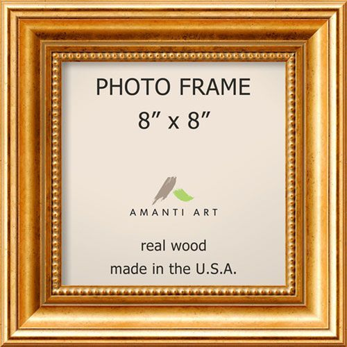 Amanti Art Townhouse Gold 11 X 11 Inch Picture Frame Gold Picture Frames Gold Photo Frames Picture Frame Sizes