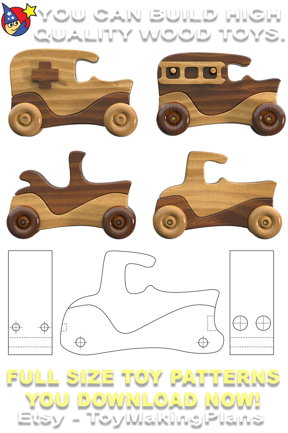 Martin Motors Crafts Show Classics Pdf Download Etsy In 2021 Wooden Toys Plans Making Wooden Toys Wood Toys Plans