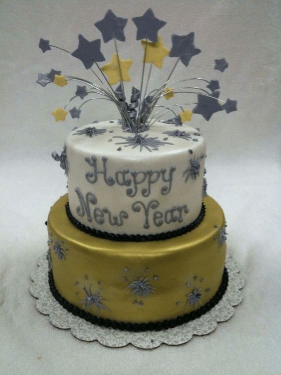 Cake Ideas For New Year 2019 Fun Beautiful Cakes Pinterest