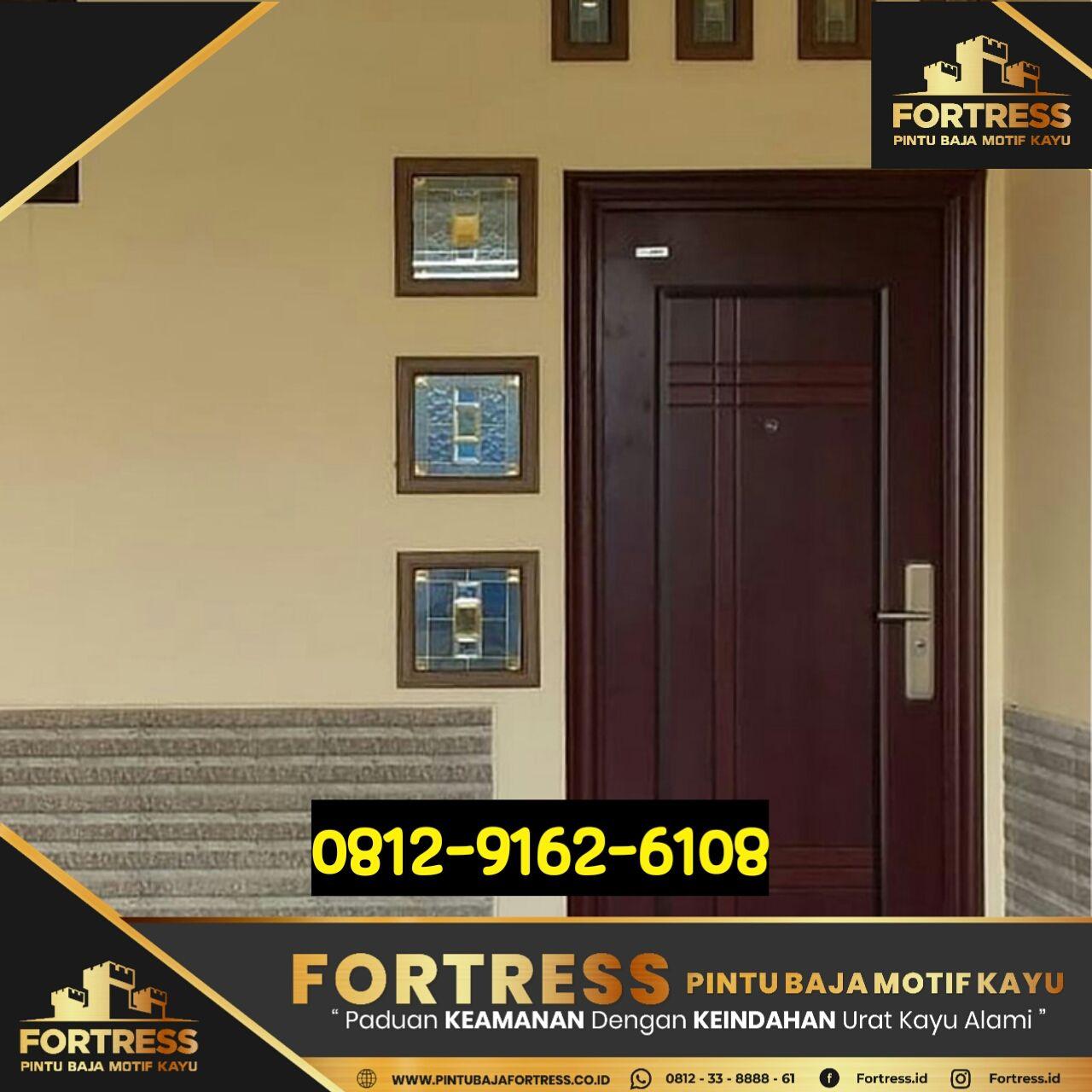 0812-9162-6105 (FOTRESS), steel garage doors, harmonica doors …