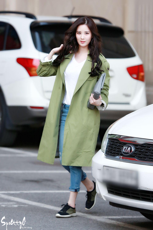 Seohyun airport fashion | Korean fashion | Pinterest ...