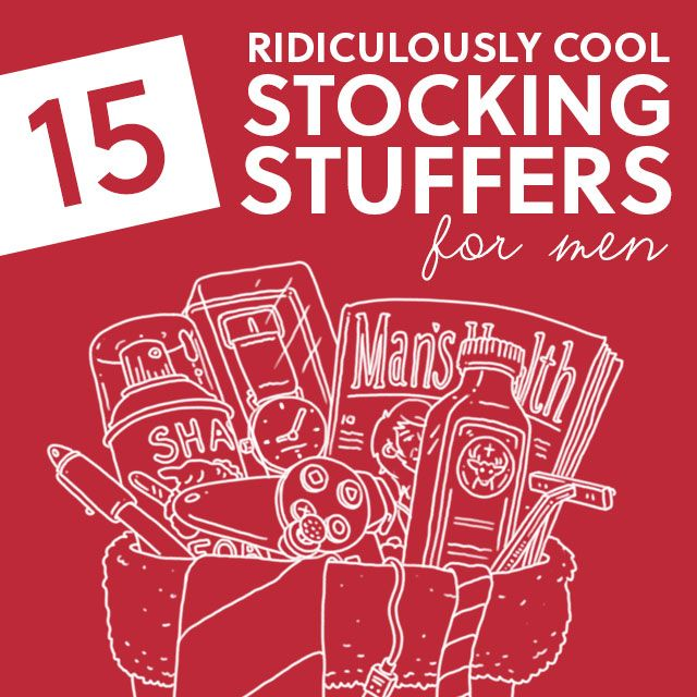 15 Ridiculously Cool Stocking Stuffers for Men Stocking stuffers