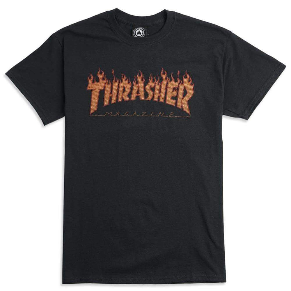 Thrasher Flame Halftone T Shirt Xl Shirts Cool T Shirts Mens Outfits [ 1000 x 1000 Pixel ]