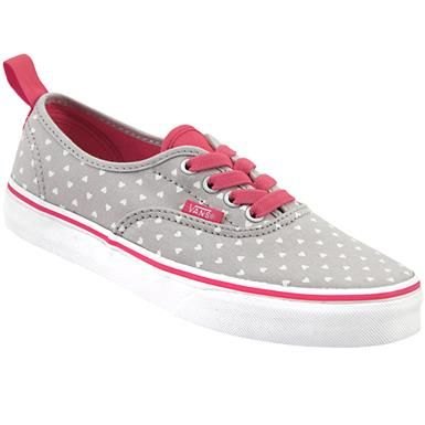 09400cae82c Vans Authentic Micro Heart Skate - Boys Grey