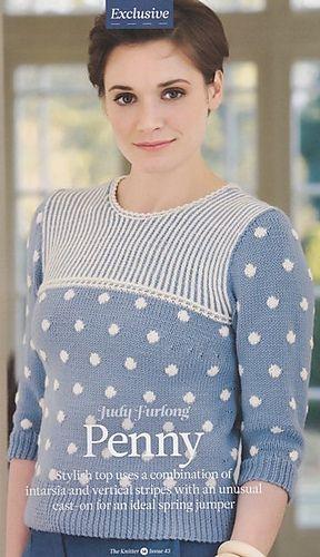 Penny pattern by Judy Furlong | Knit | Christmas sweaters