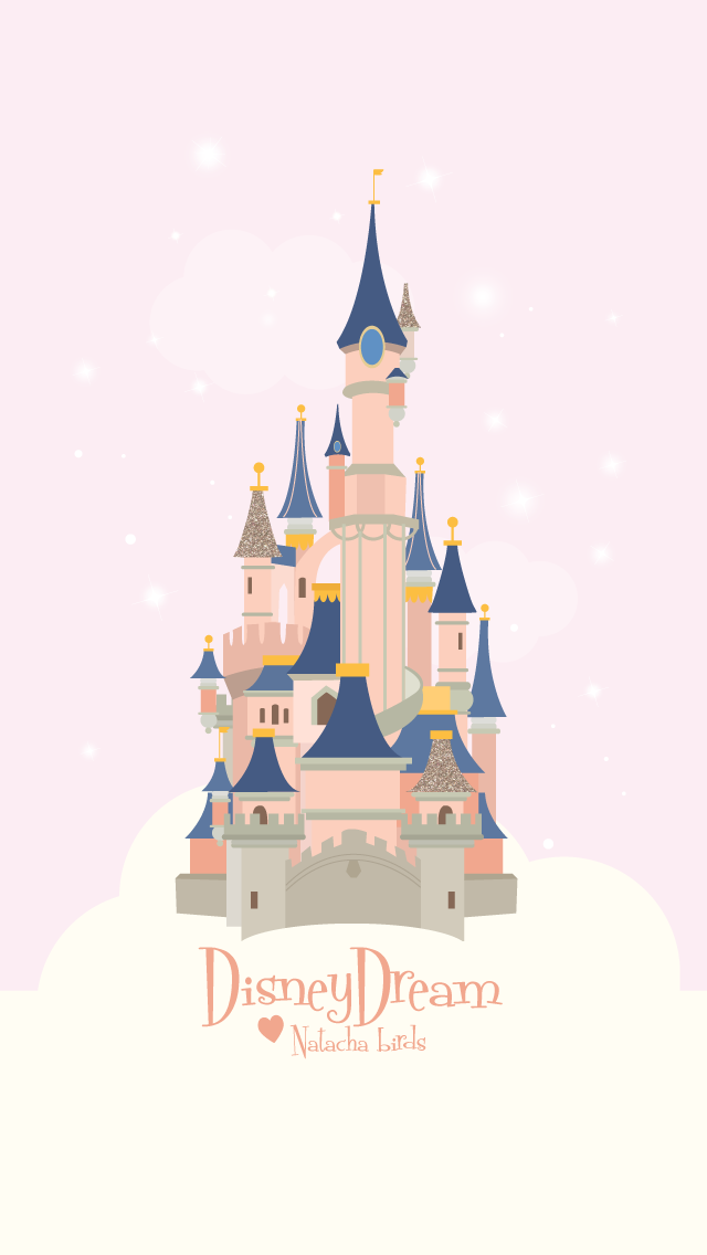 Walt Disney Land Disneyland World Cinderella Castle Fan Art Sketch Illustration Drawing