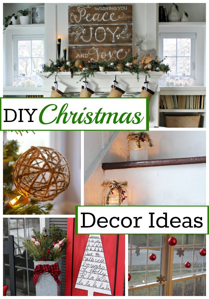 10 awesome and inspiring DIY Christmas decor ideas for your home. chatfieldcourt.com