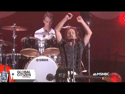 Pearl Jam Full Set (Part 1) - Global Citizen Festival 2015