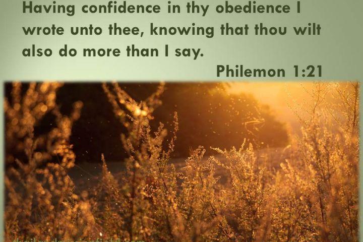 Philemon 121 philemon scripture of the day books of