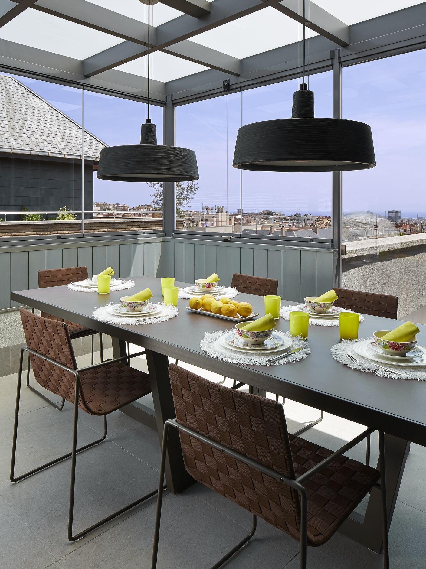 Molins interiors arquitectura interior interiorismo for Mesas de comedor para exterior