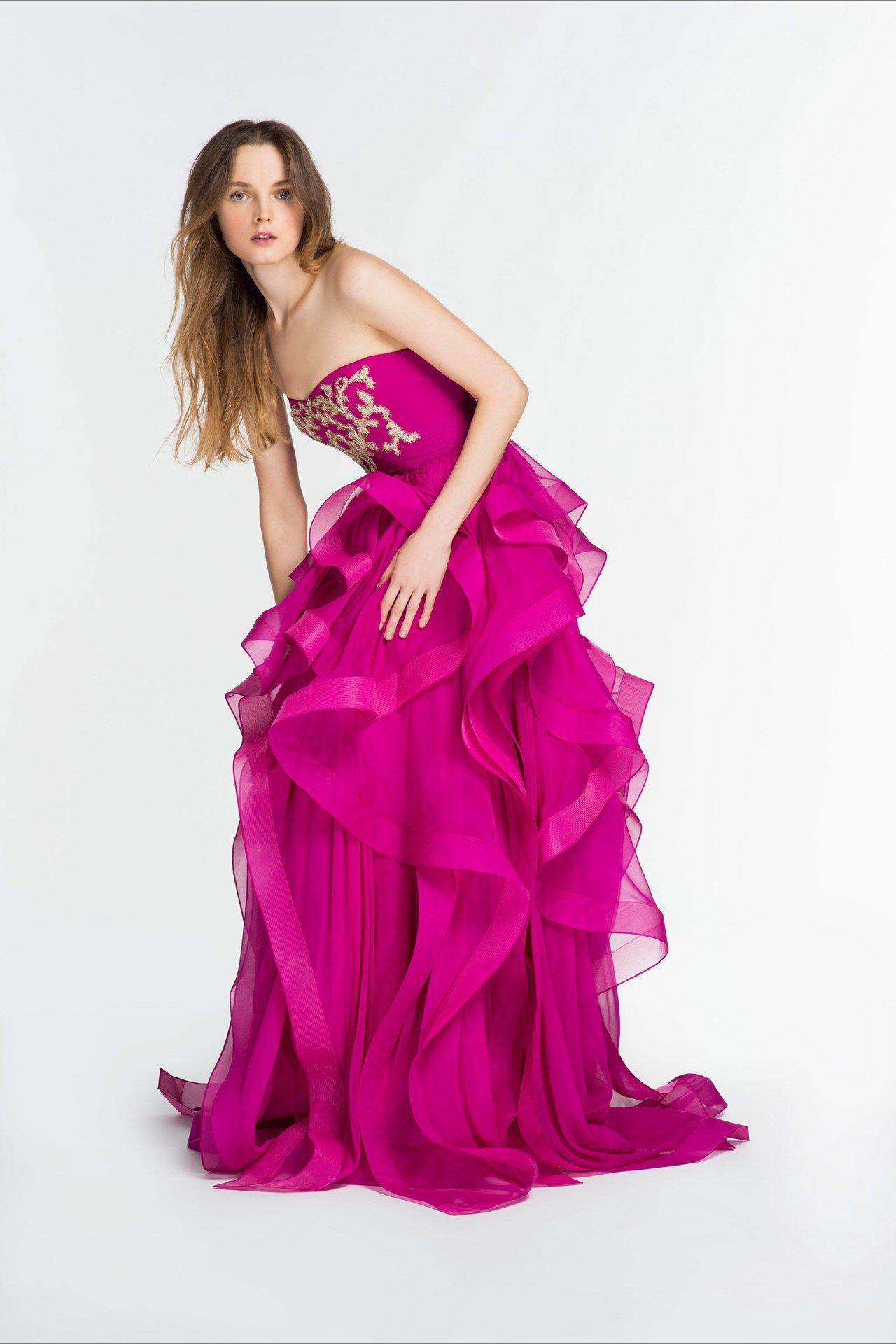 Reem Acra   Long Dresses   Pinterest