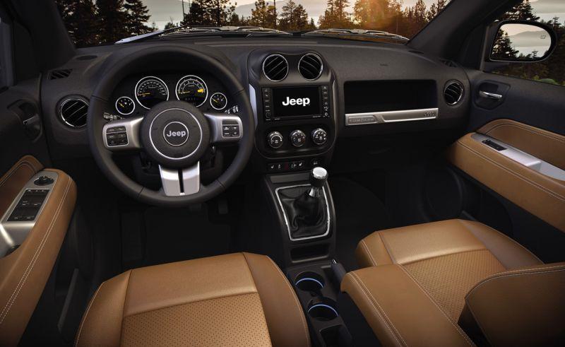Jeep Compassin sisätilat ovat saaneet uuden, hienostuneen