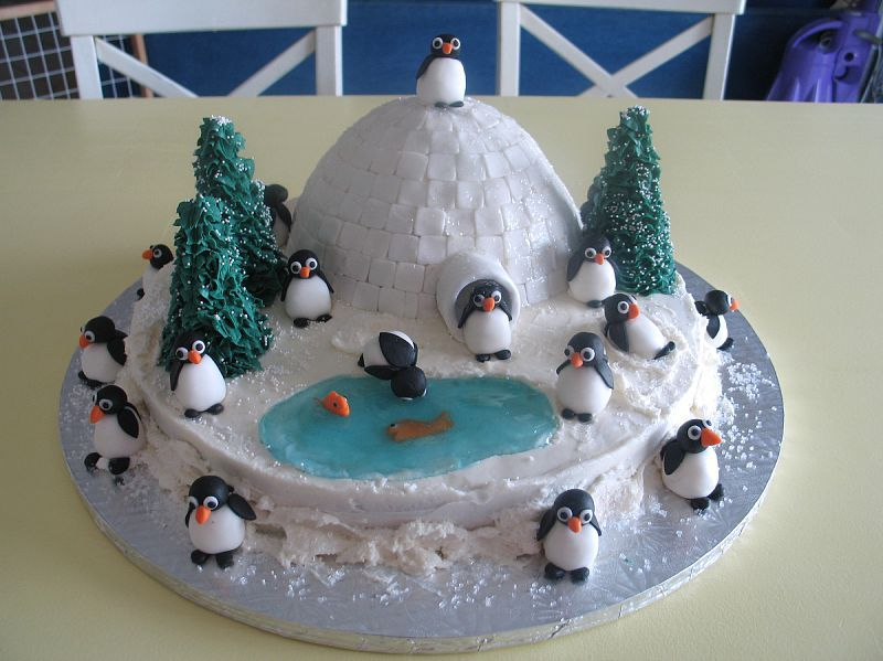 Looks Easy Enough For Kids To Make Little Penguins Cute