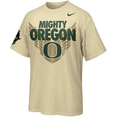 quality design 601a1 52f39 No. 5 (tie) - Nike Oregon Ducks Mighty Oregon T-Shirt ...