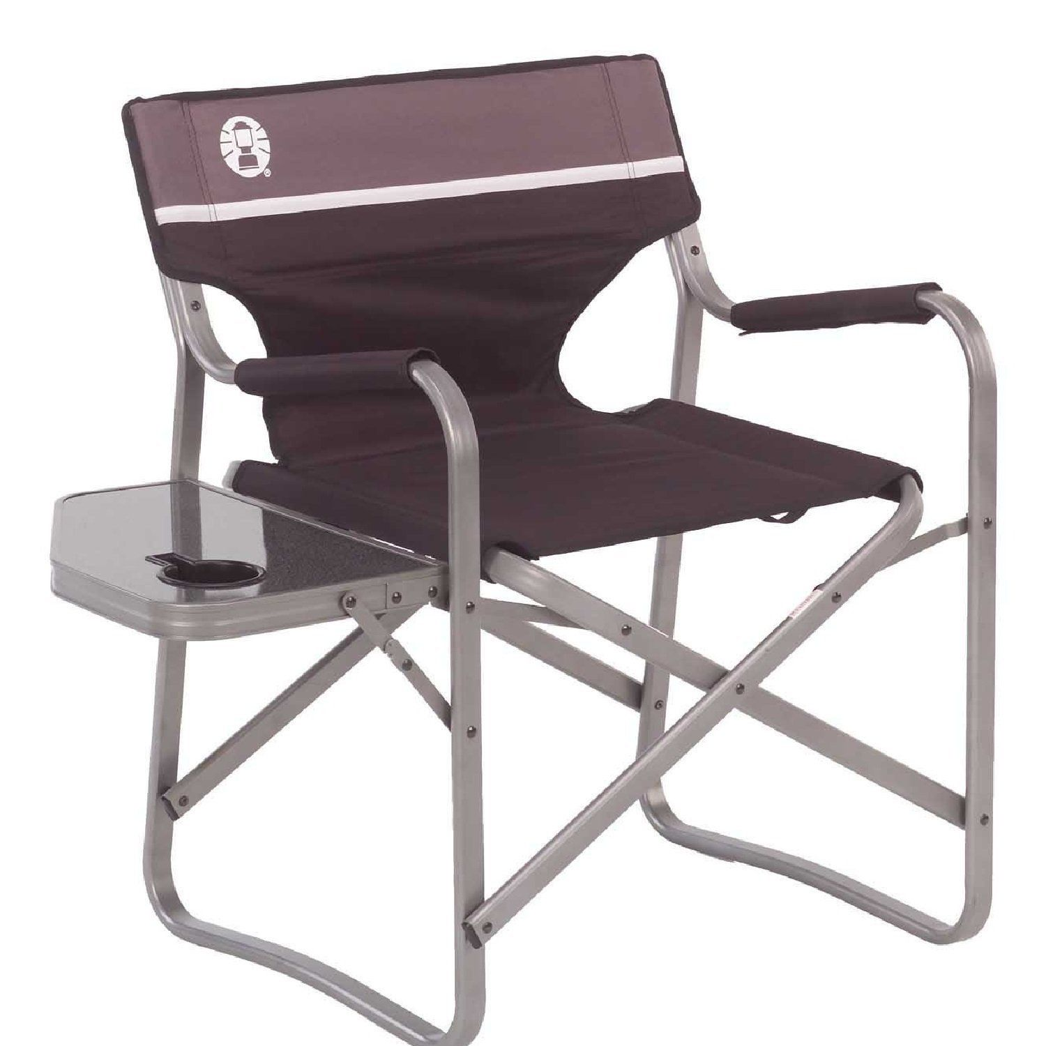 Coleman Portable Deck Chair with Side Table You can