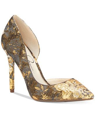 509c24b774d Jessica Simpson Lucina d Orsay Pumps - Jessica Simpson Clothing - SLP -  Macy s