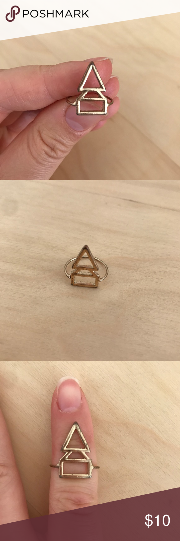 Madewell Geometric Midi Ring Madewell is not stamped on the inside