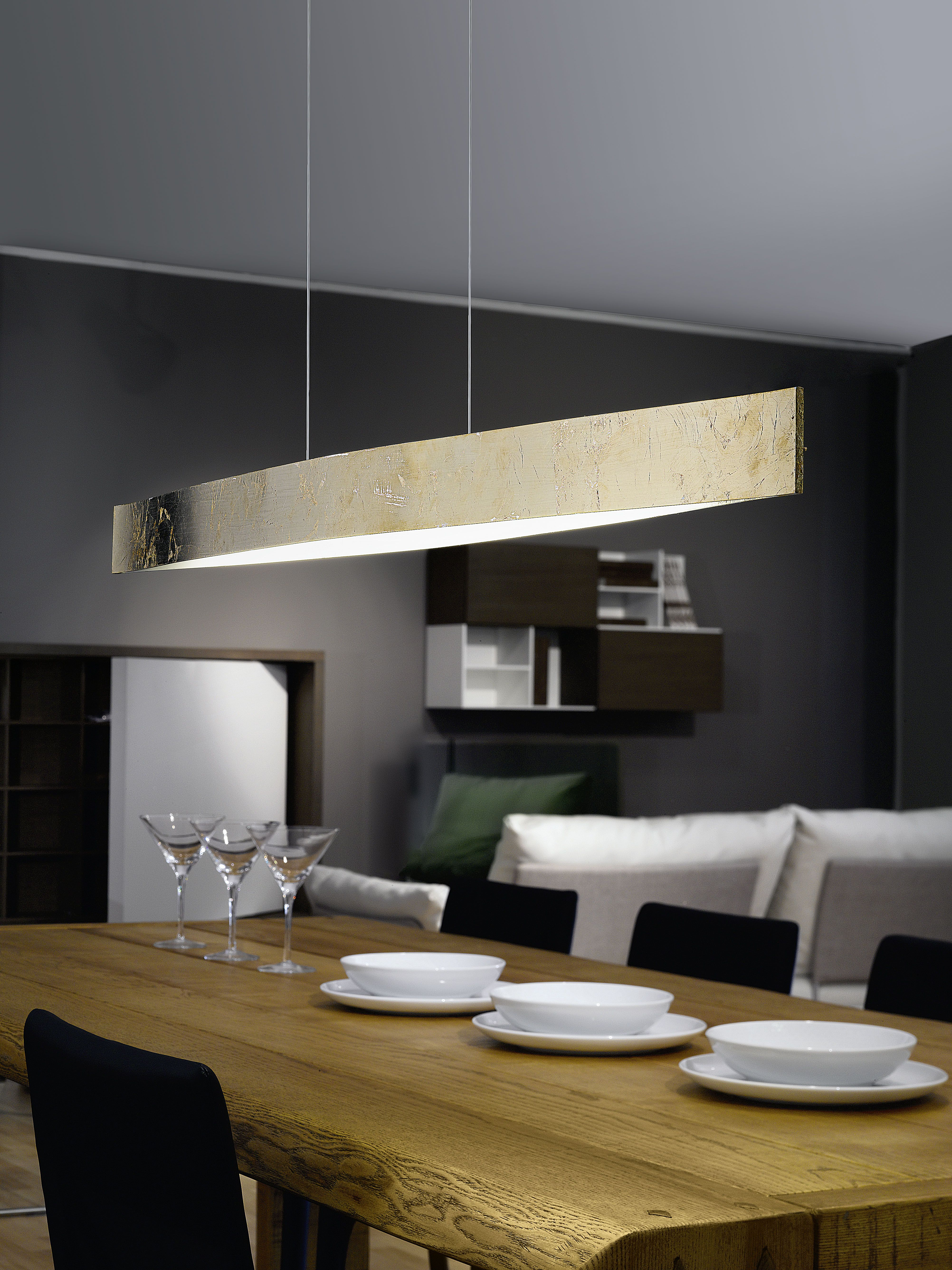 LED hanging luminaire FORNES Ideas for the House