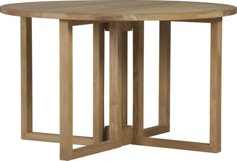 regatta round drop leaf table 1249 crate and barrel outdoor furniture drop leaf table. Black Bedroom Furniture Sets. Home Design Ideas