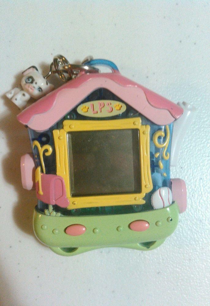 Littlest Pet Shop Tamagotchi Handheld Digital Game Dalmatian