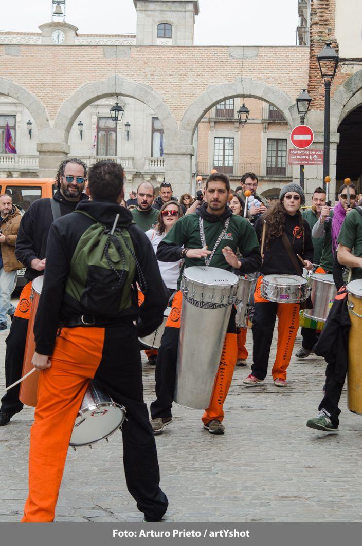 """""""Ronda de Cuentos"""" con Autismo Ávila - Sábado 28 de febrero - Con la música de Yembalé Fotografía: Arturo Prieto / artYshot"""