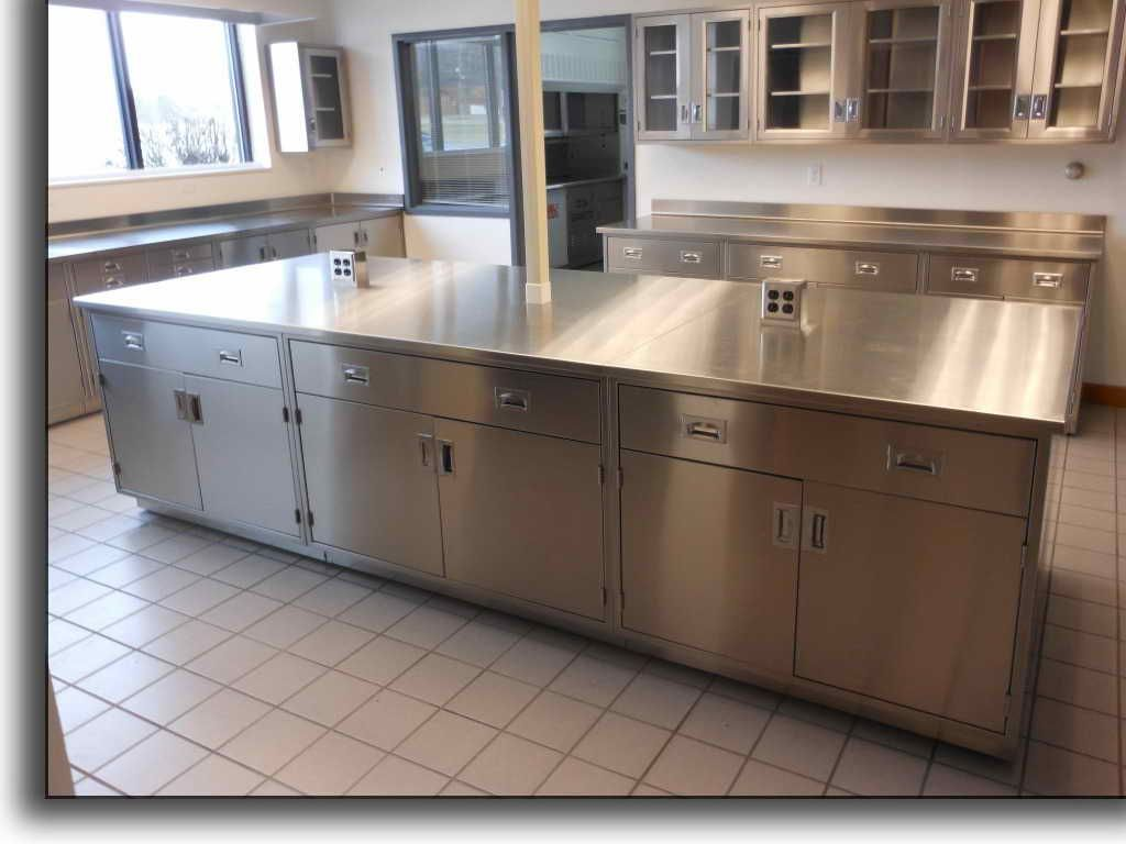 Lab Cabinets And Countertops