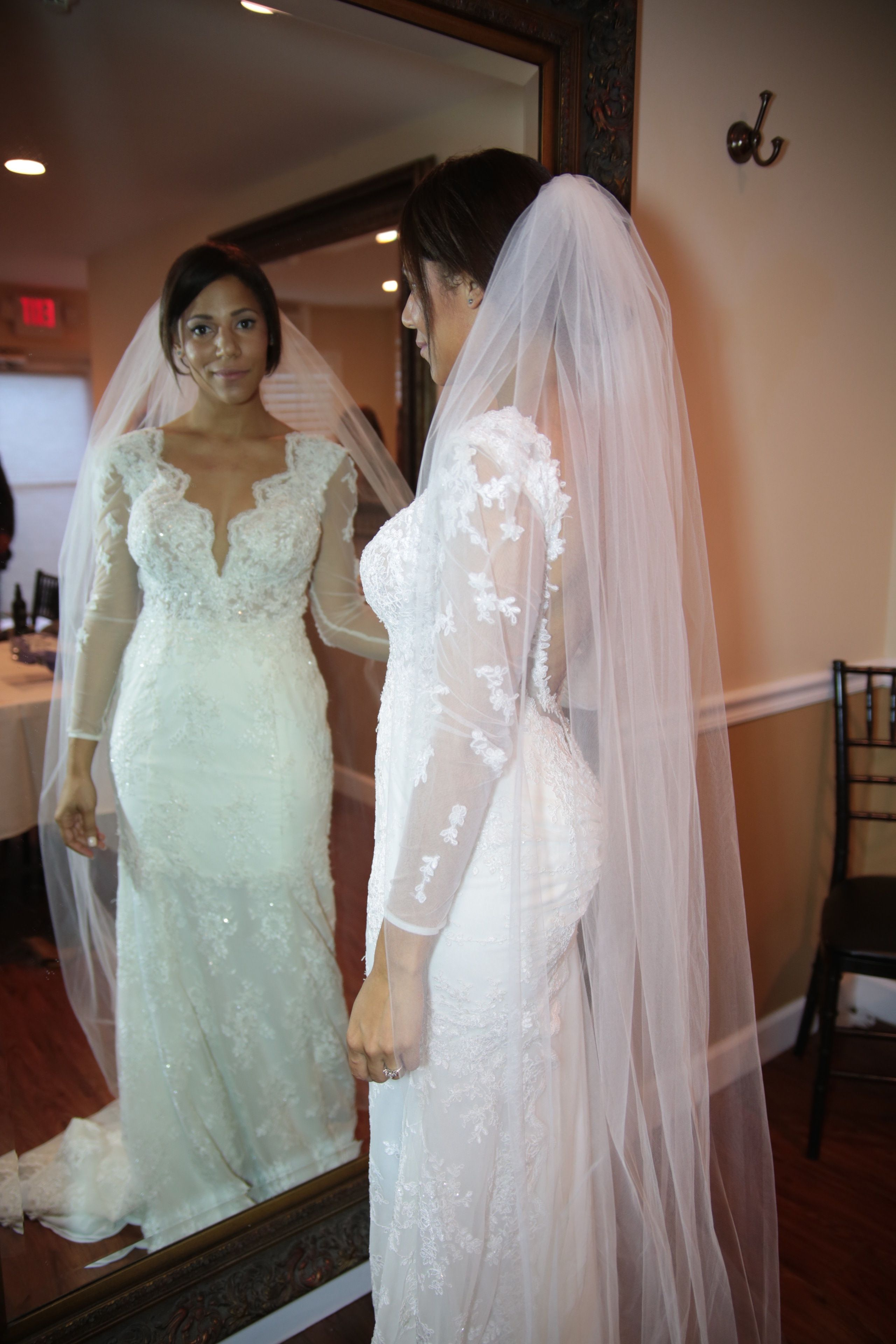 Custom made wedding dress  My custom made wedding dress Incorporating different styles