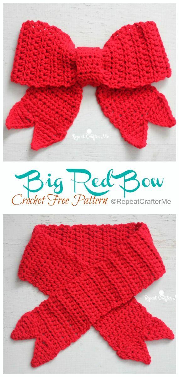 Gift Bow Topper Crochet Free Patterns - Crochet & Knitting
