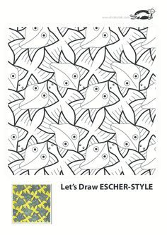Pattern Krokotak, For Kids, Kids Ideas, Art Class, Escher