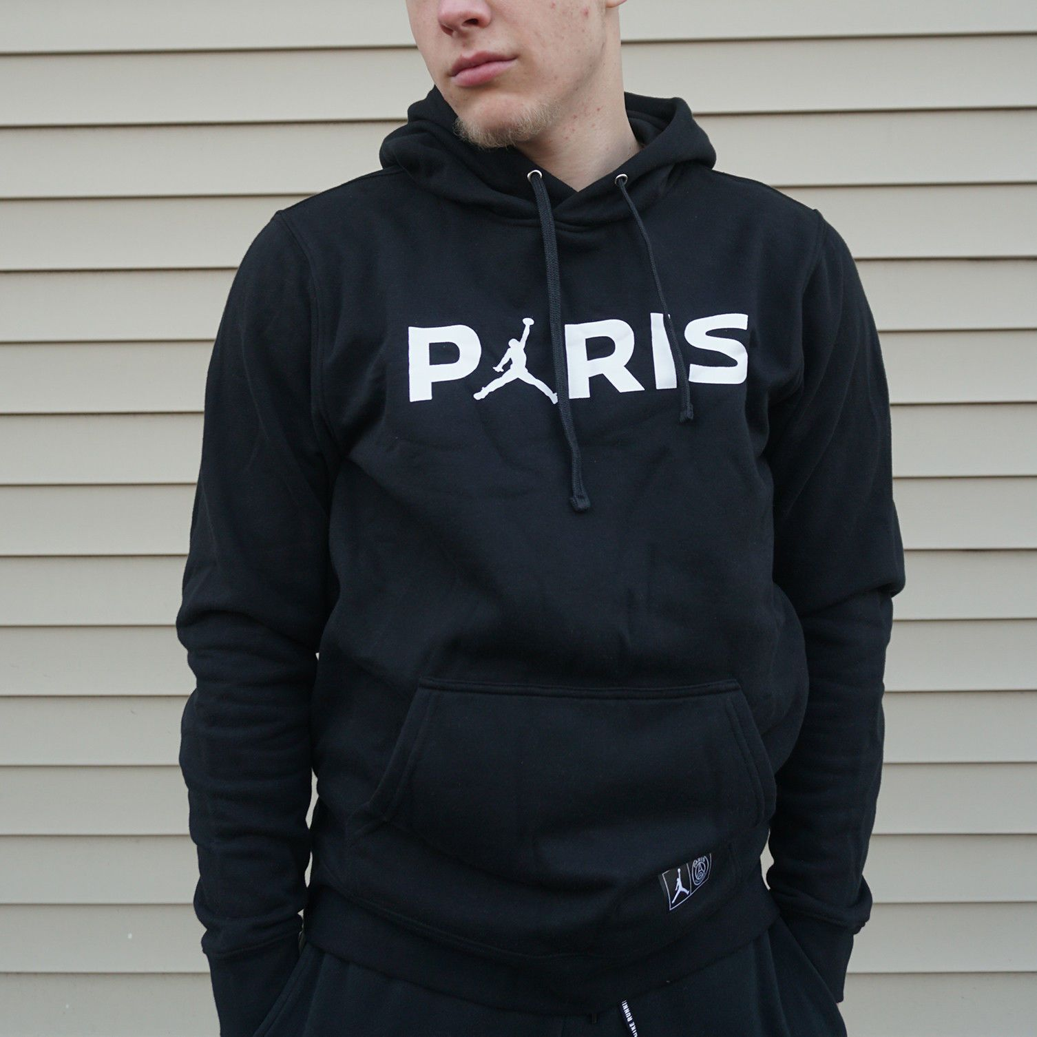 6b952f67c04 Paris Saint-Germain PSG x Jordan JUMPMAN Hoodie Pullover Nike Air ...