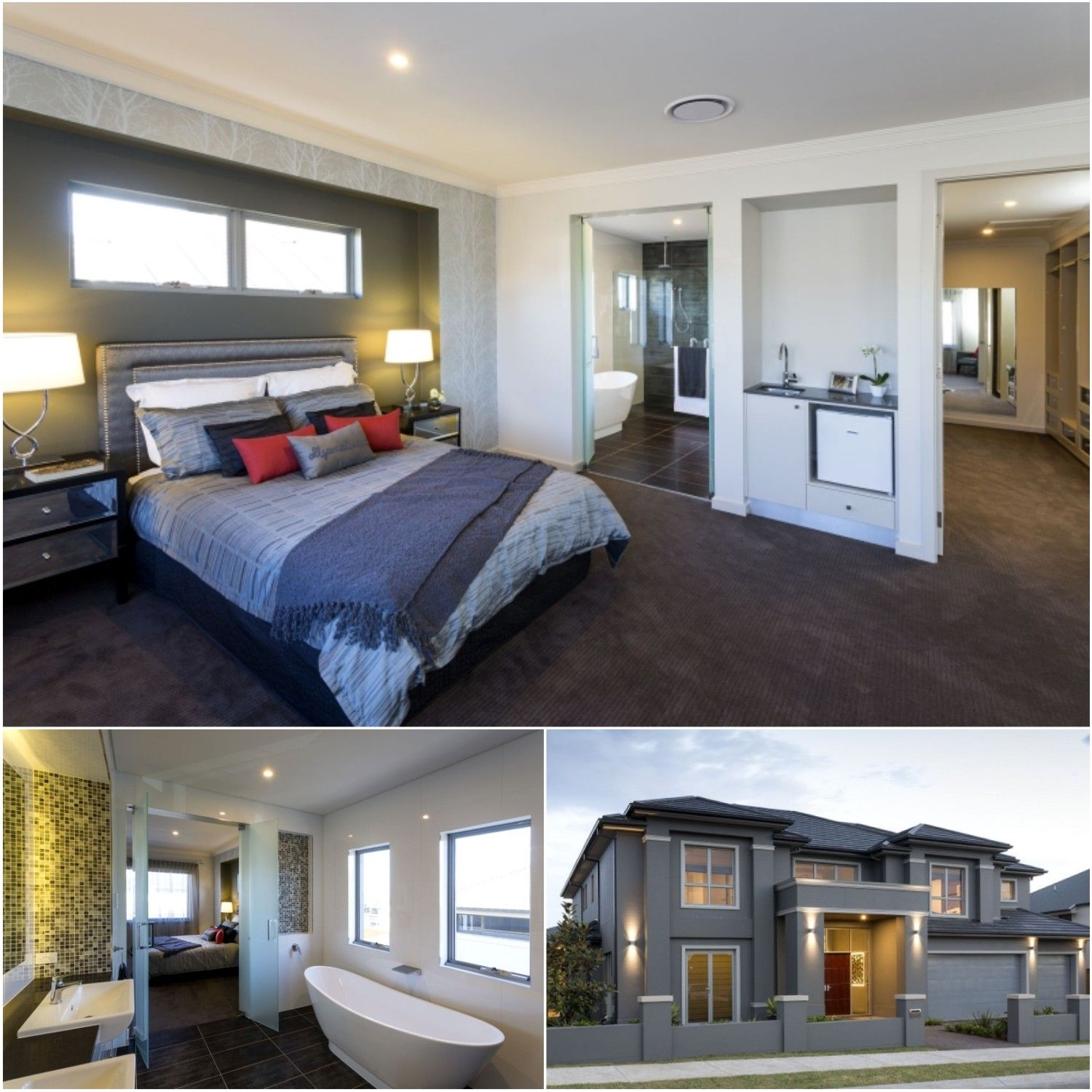 Build your newhome with this stunning master bedroom