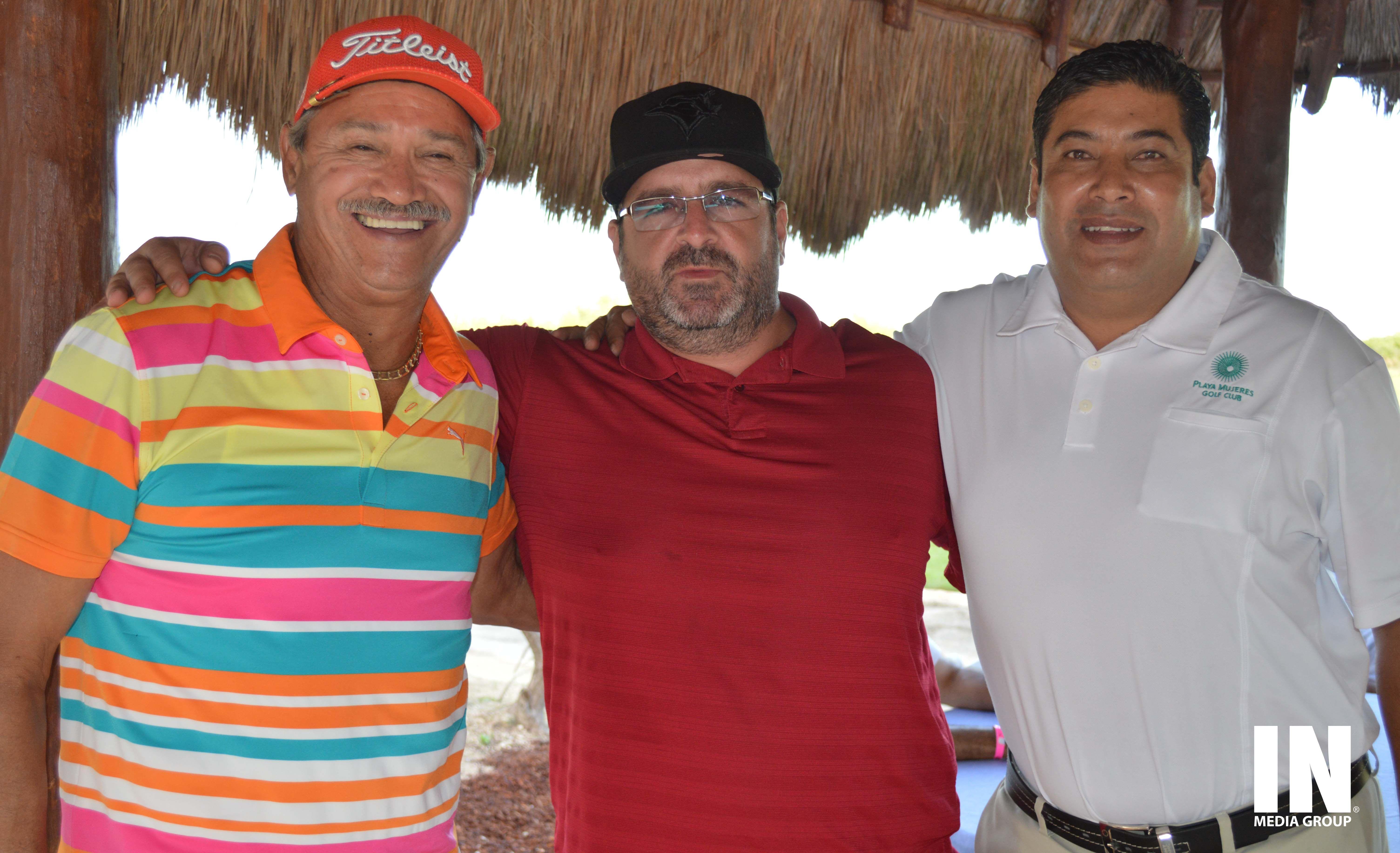 Mariano Rojas, Ramiro Palacios y Roberto Delgado.