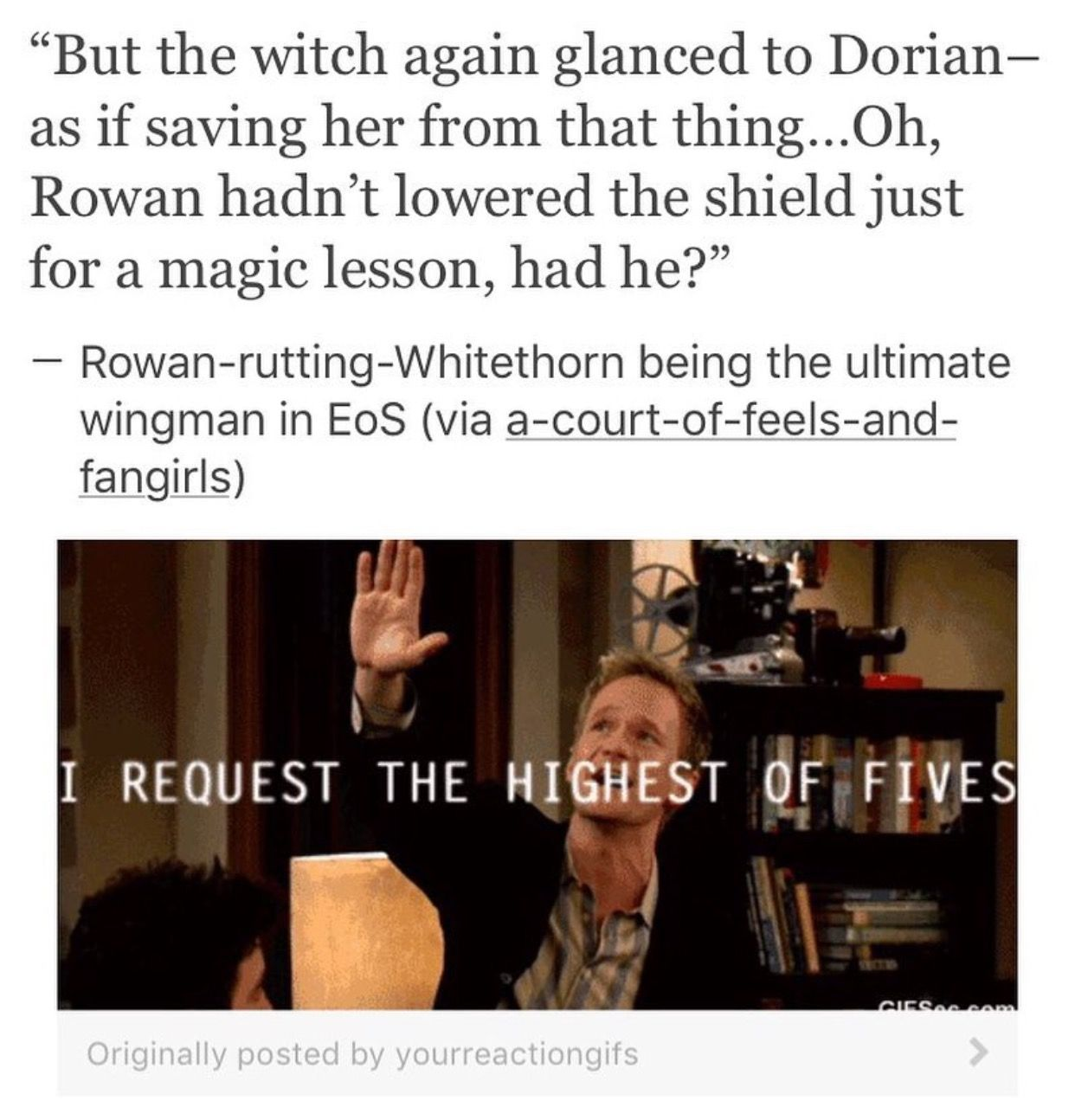 Rowan has been and will always be the best wingman in existence
