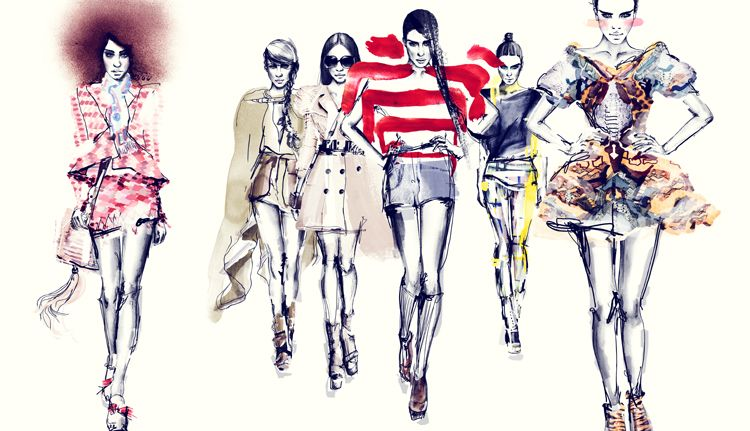 Blendspace | Fashion Illustrator