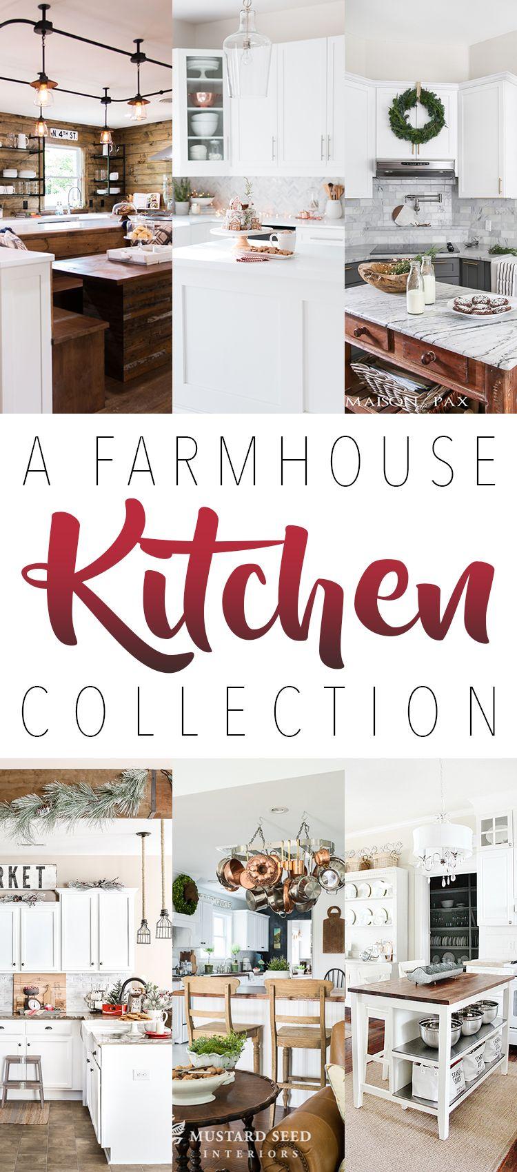 A Farmhouse Kitchen Collection #kitchencollection