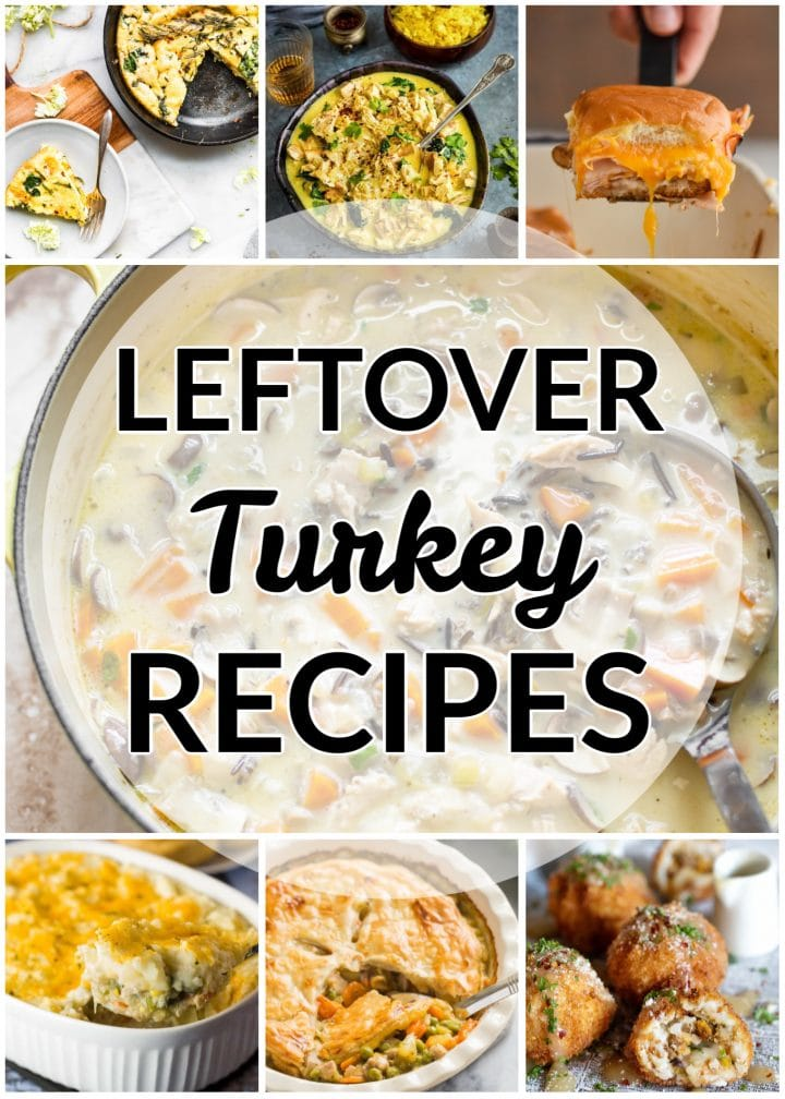 The Best Leftover Turkey Recipes #leftoverturkeyrecipeseasy