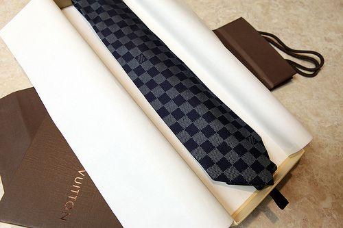 3c7edd675732 Louis Vuitton Damier Classique Tie