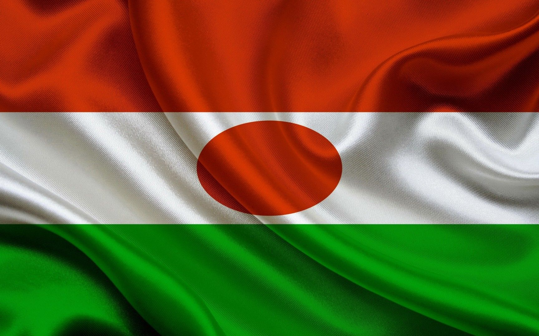 Niger Flag Wallpaper Niger Flag Band Wallpapers Wallpaper