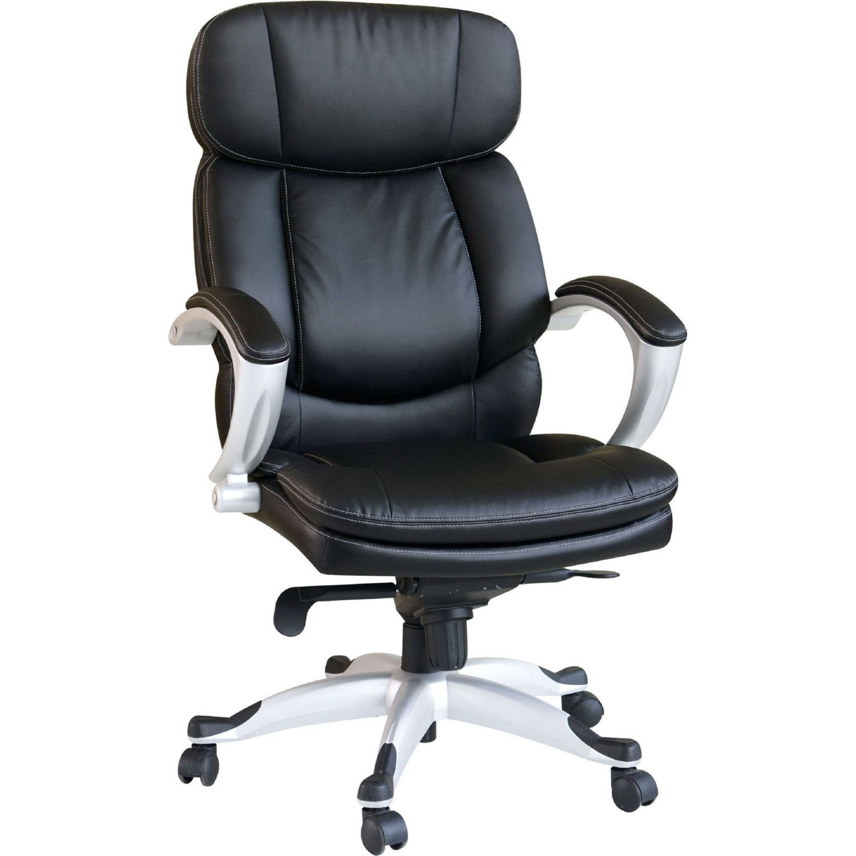 Acme Minta Office Chair W Pneumatic Lift Black Leatherette