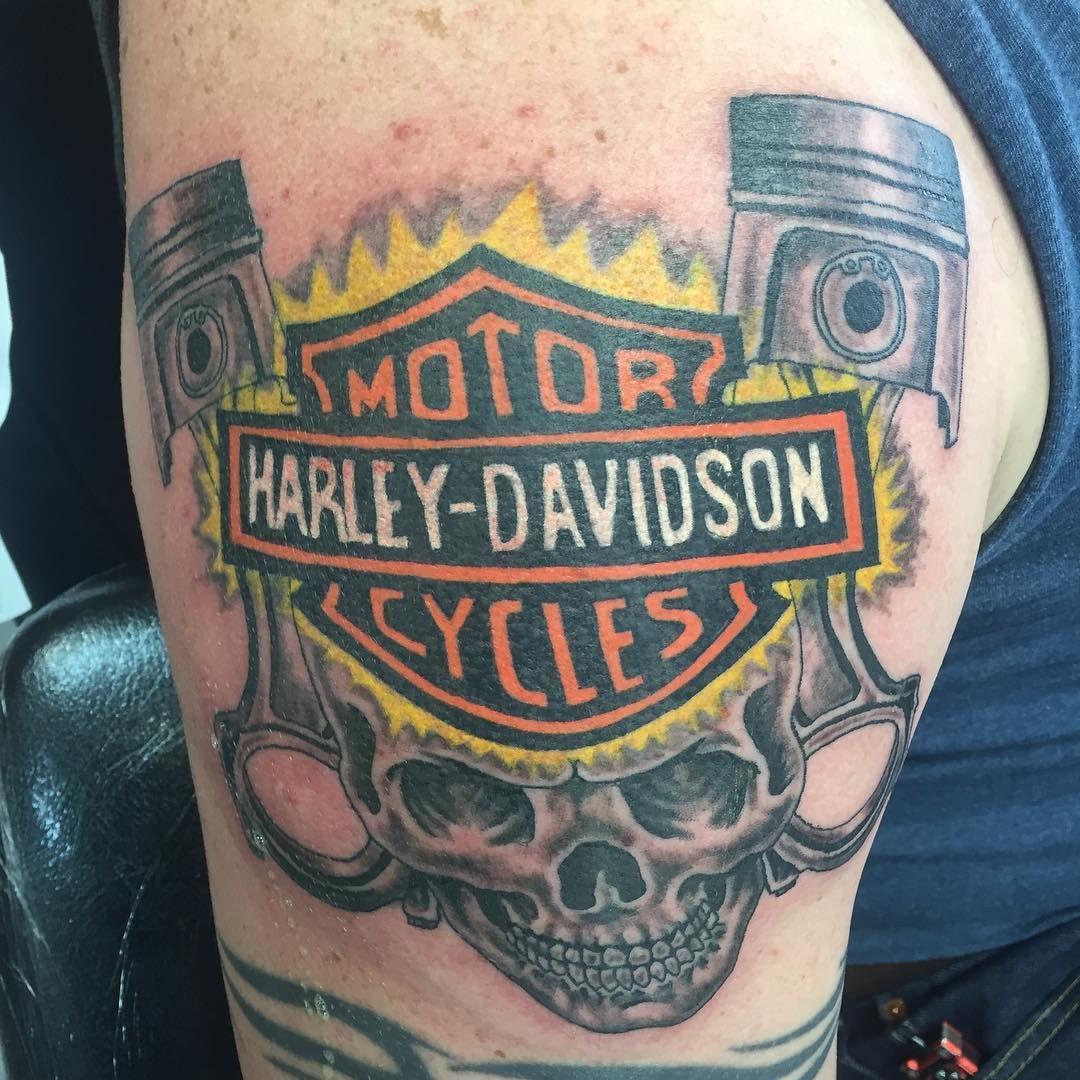 Harley davidson tattoo with images harley davidson