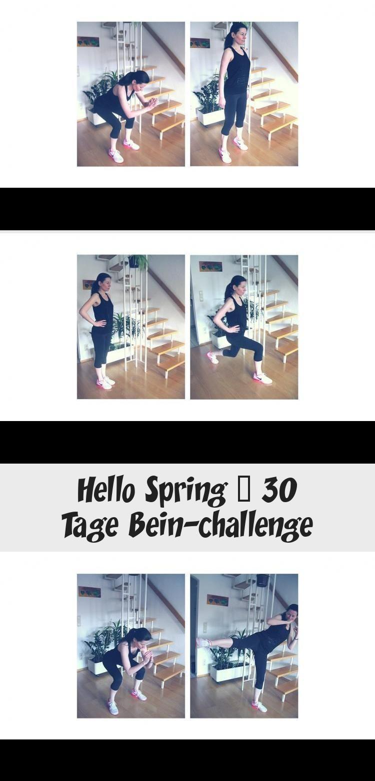 Fit im Frühling - mit dieser 30 Tage Workout Challenge für die Beine! Speziell für Frauen - Workout...