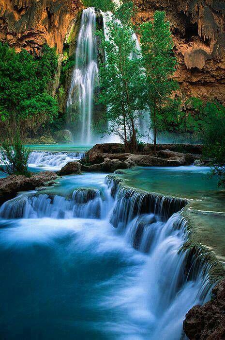 Havazu Falls, Grand Canyon, AZ.