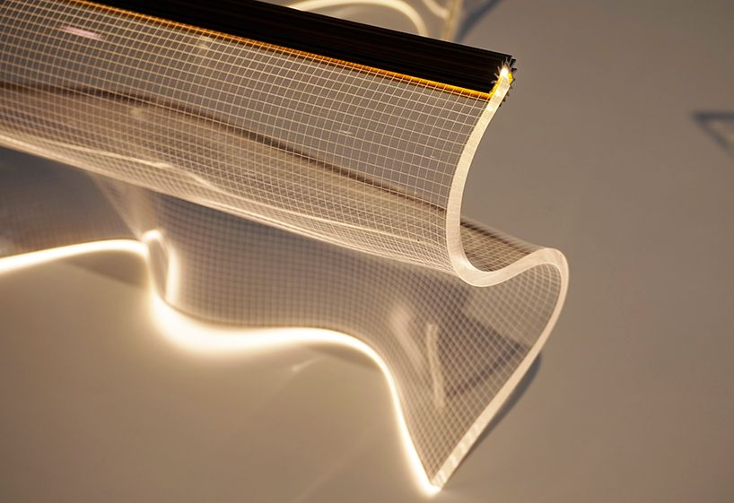 Partisans Heats Up Ids Toronto With Gweilo Light Sculpting Factory With Images Futuristic Interior