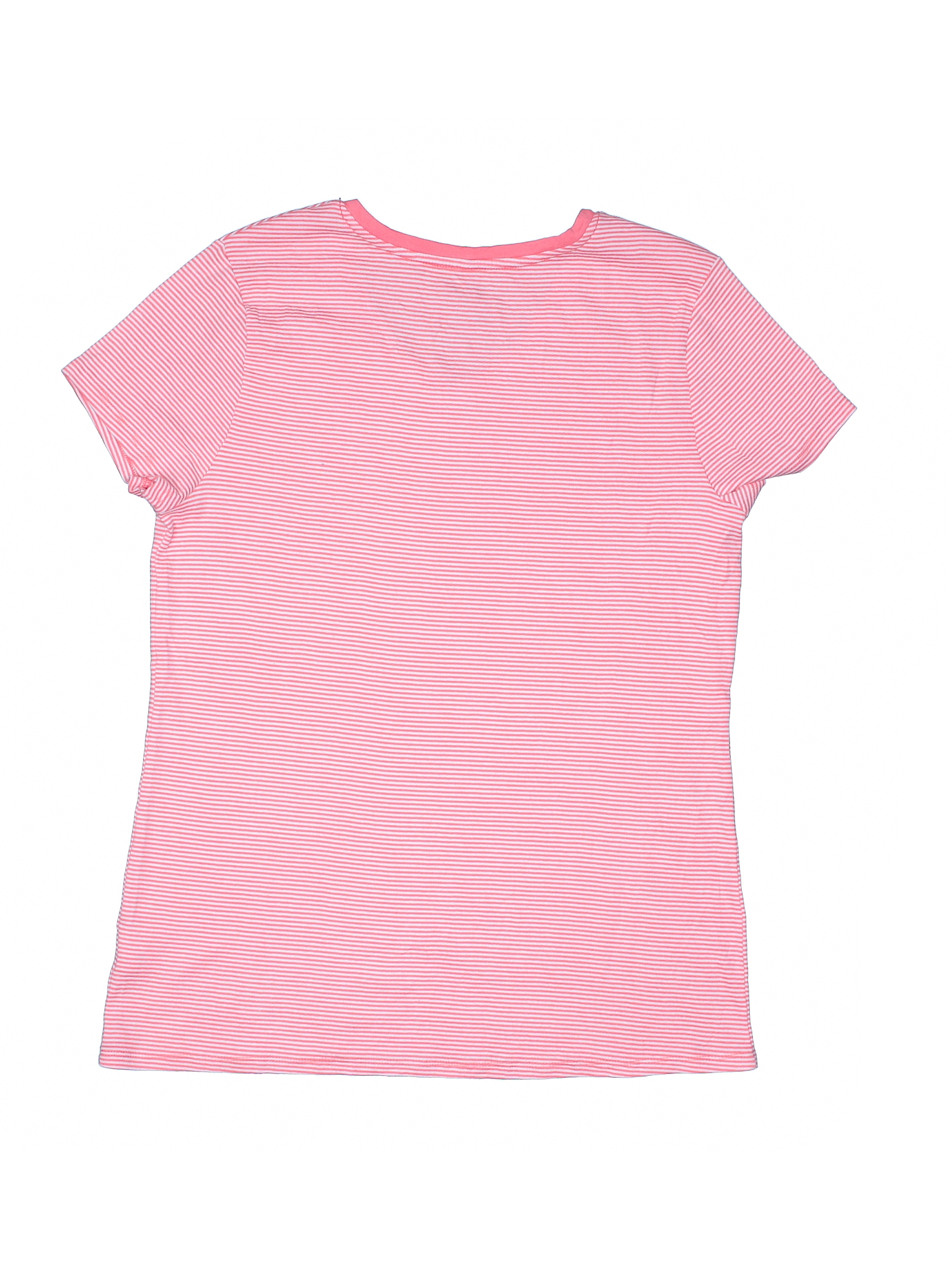 Faded Glory Short Sleeve T Shirt Size 1200 Coral Womens