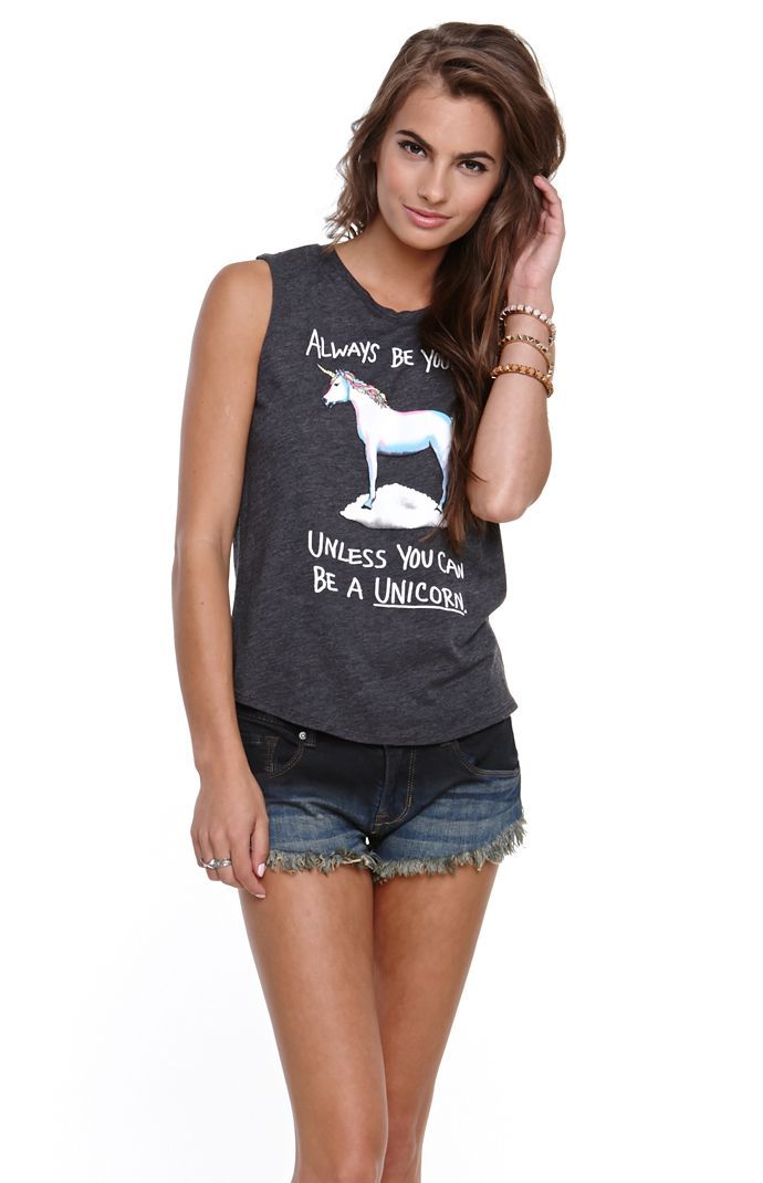 de72902f Riot Society Unicorn Music Tank | My style | Cute outfits, Fashion ...