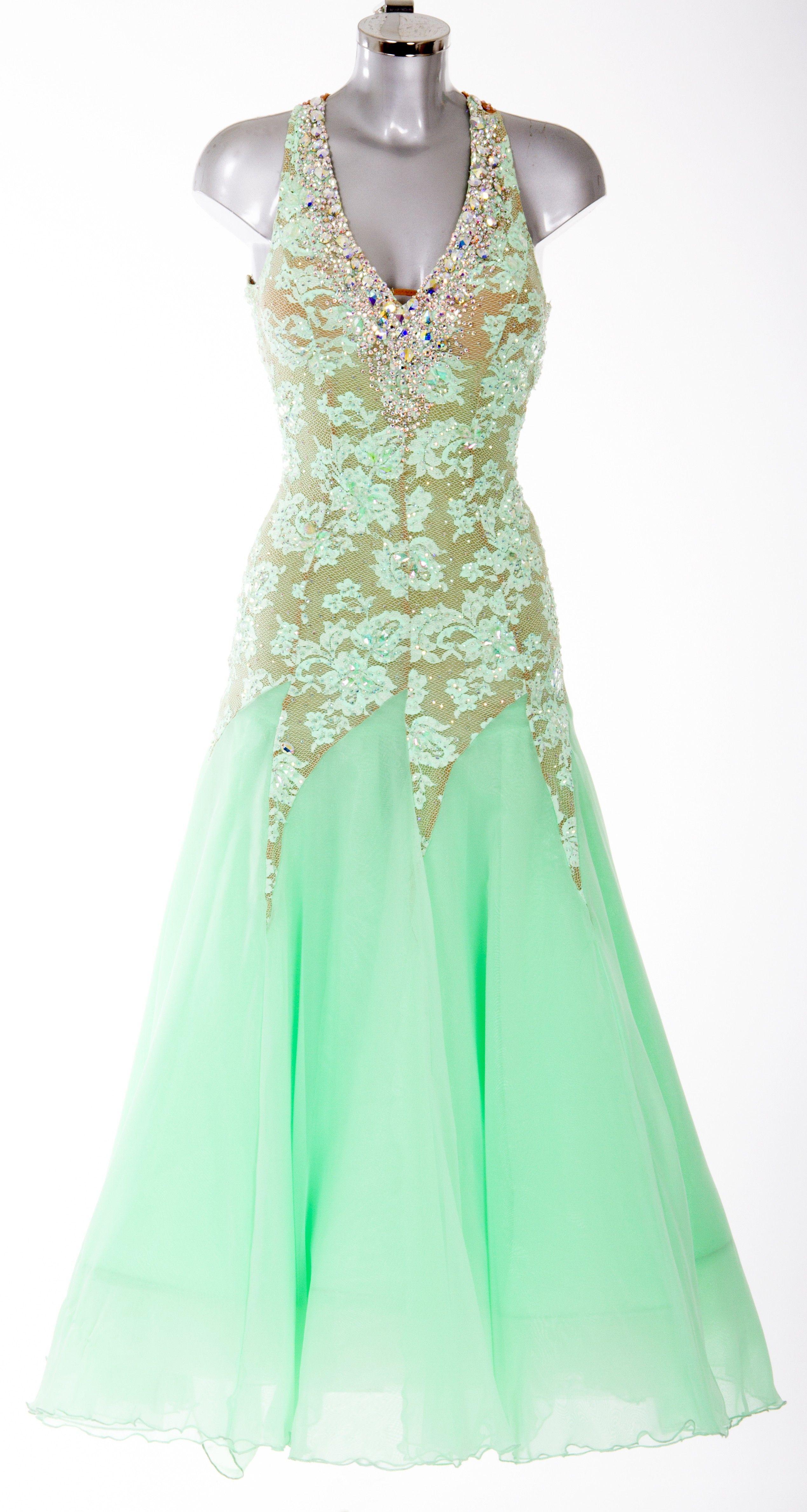 379103 Peppermint Ballroom Dress