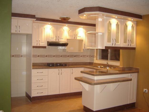 Mueble de cocina peque o muebles muebles de cocina for Modelos de cocinas en espacios pequenos